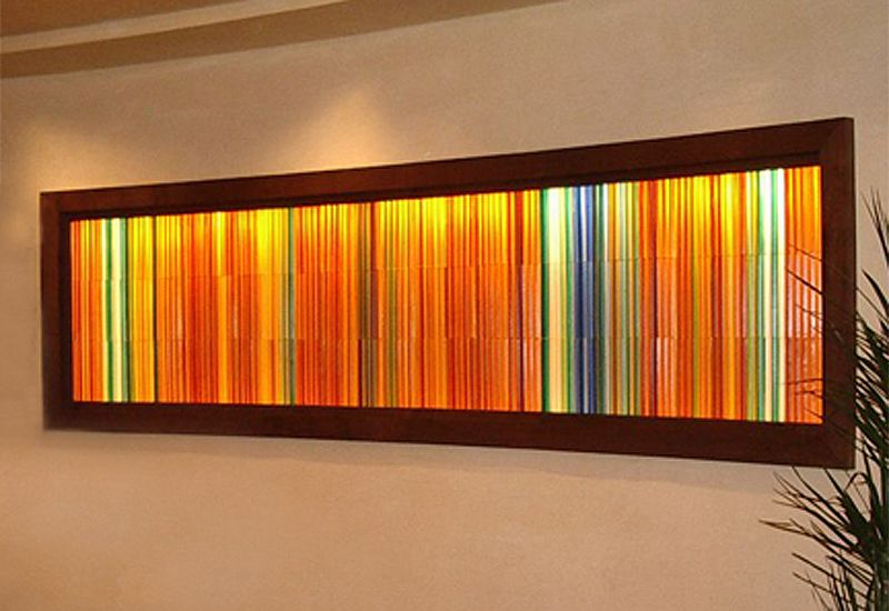 Art Glass Window St Regis Resort Glass Window Art Lightbox Art Glass Art