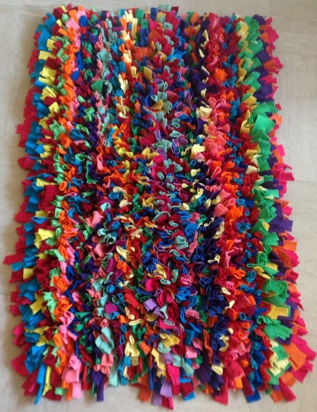 Rag Rug Hooking Patterns Crochet