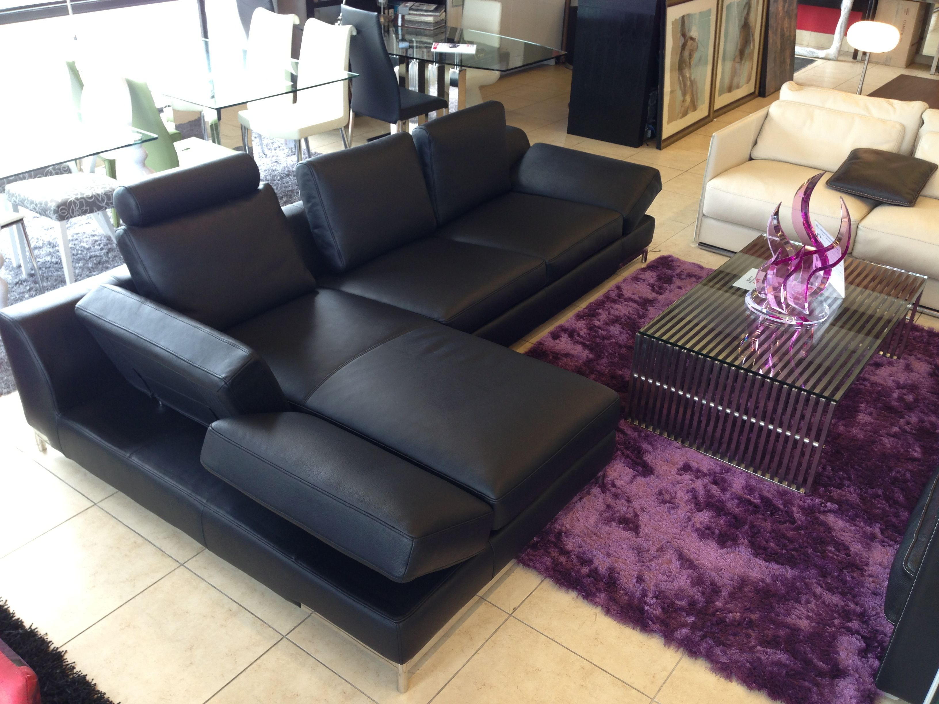 Toronto Modern Furniture New Leather Sectional Sofa Furniture Toronto 700