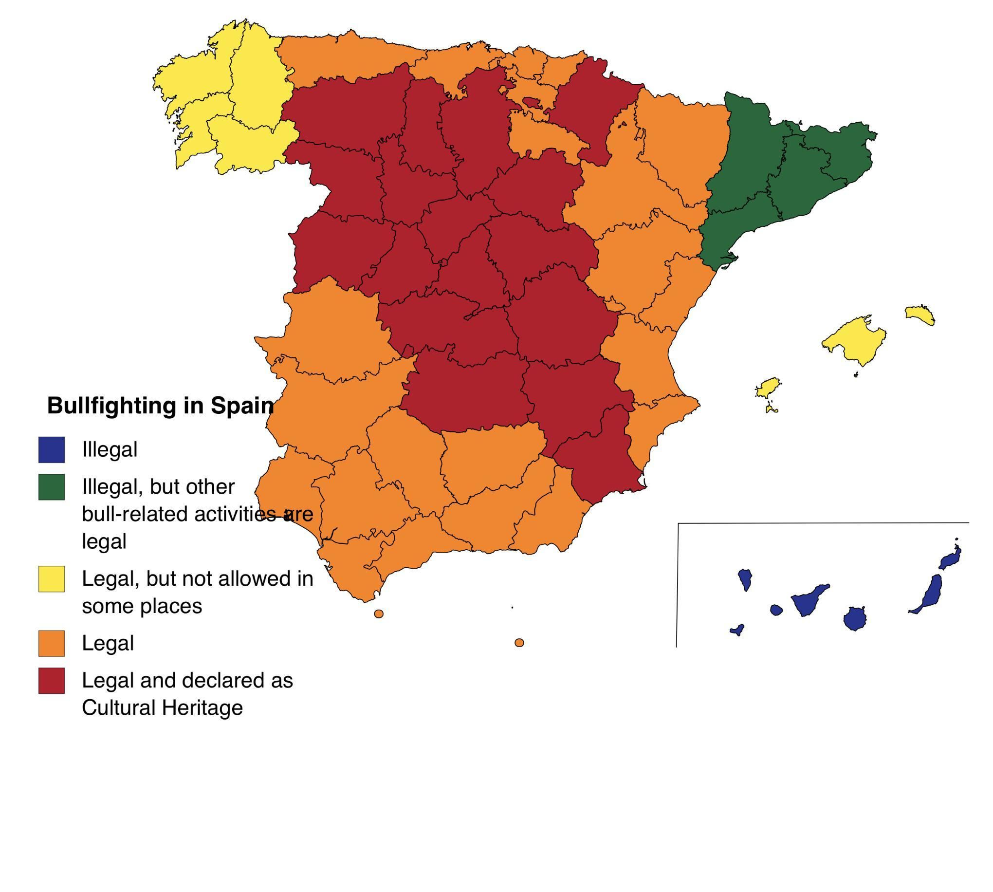 Bullfighting In Spain Map Spain United Nations Peacekeeping