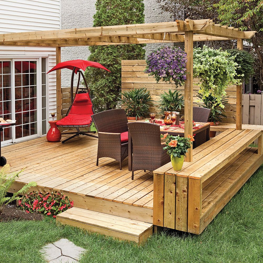 Am naget patio design recherche google ext rieur for Patio exterieur en bois
