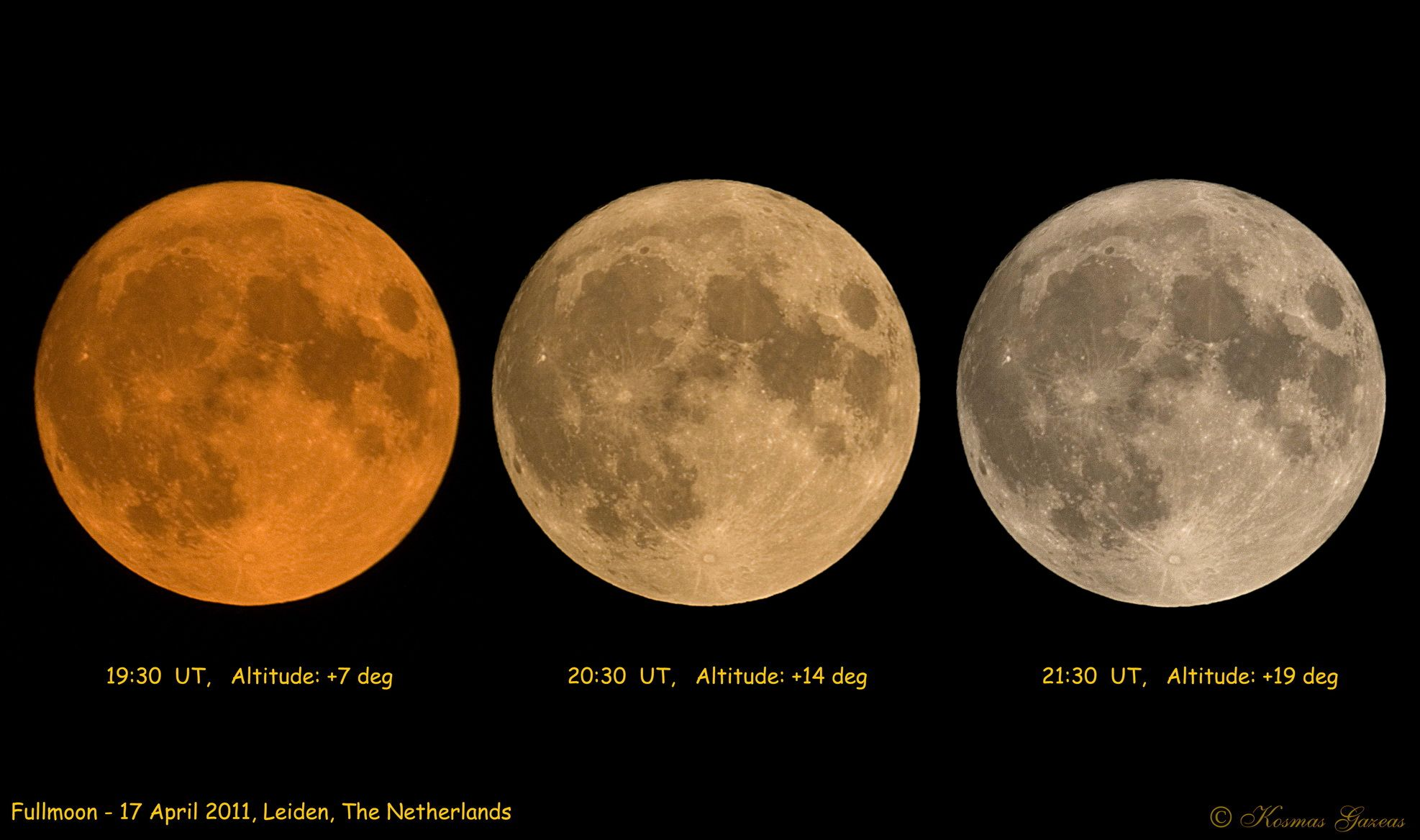 True Color Of The Moon