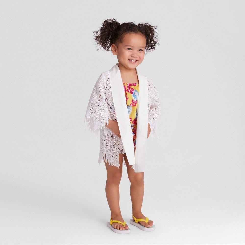 Genuine Kids Oshkosh Toddler Girls' Lace Kimono