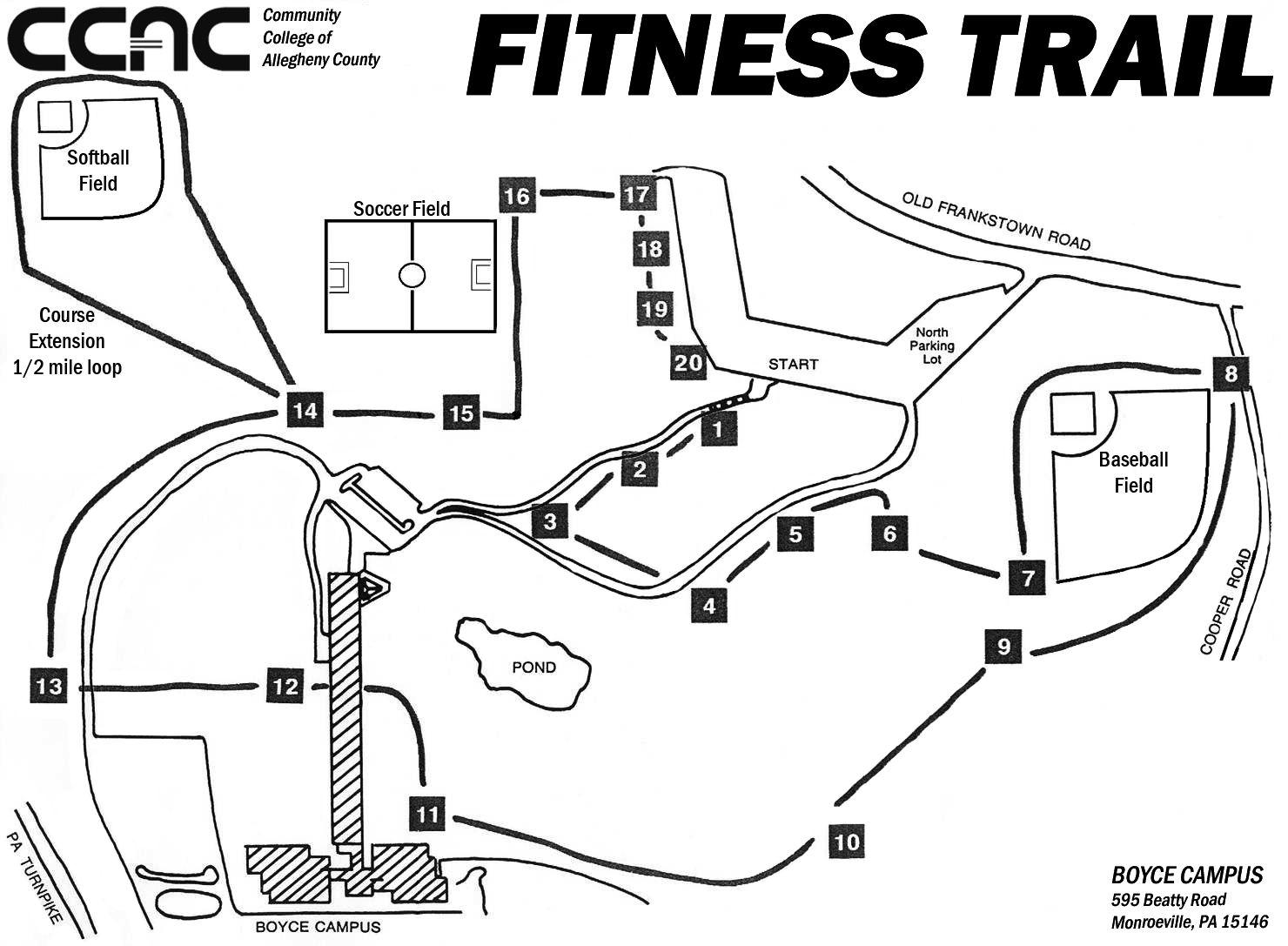 Boyce Campus South Wing 6th Floor Ccac Boyce Campus Maps