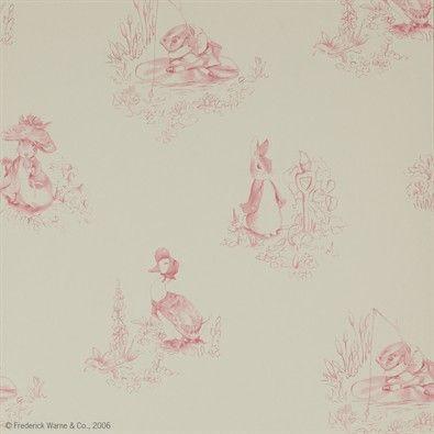 Tales of Beatrix Potter wallpaper For kids \u003c3 Pinterest Toiles