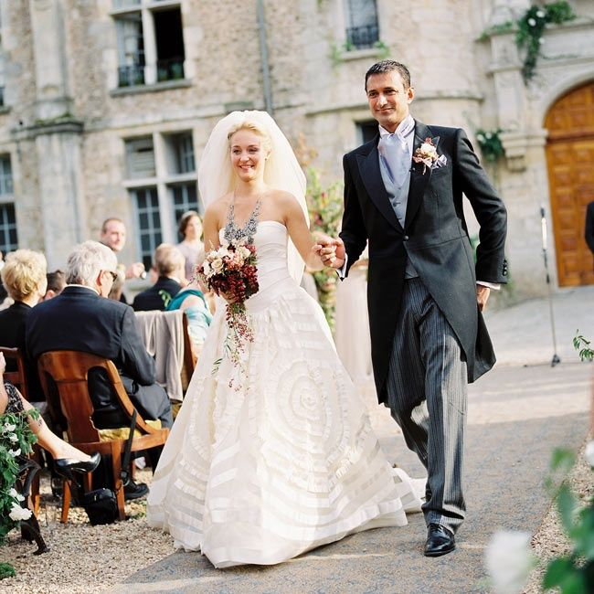 CHIC A Luxe Wedding at Hôtel Chateau d'Esclimont in Bleury-Saint-Symphorien, France