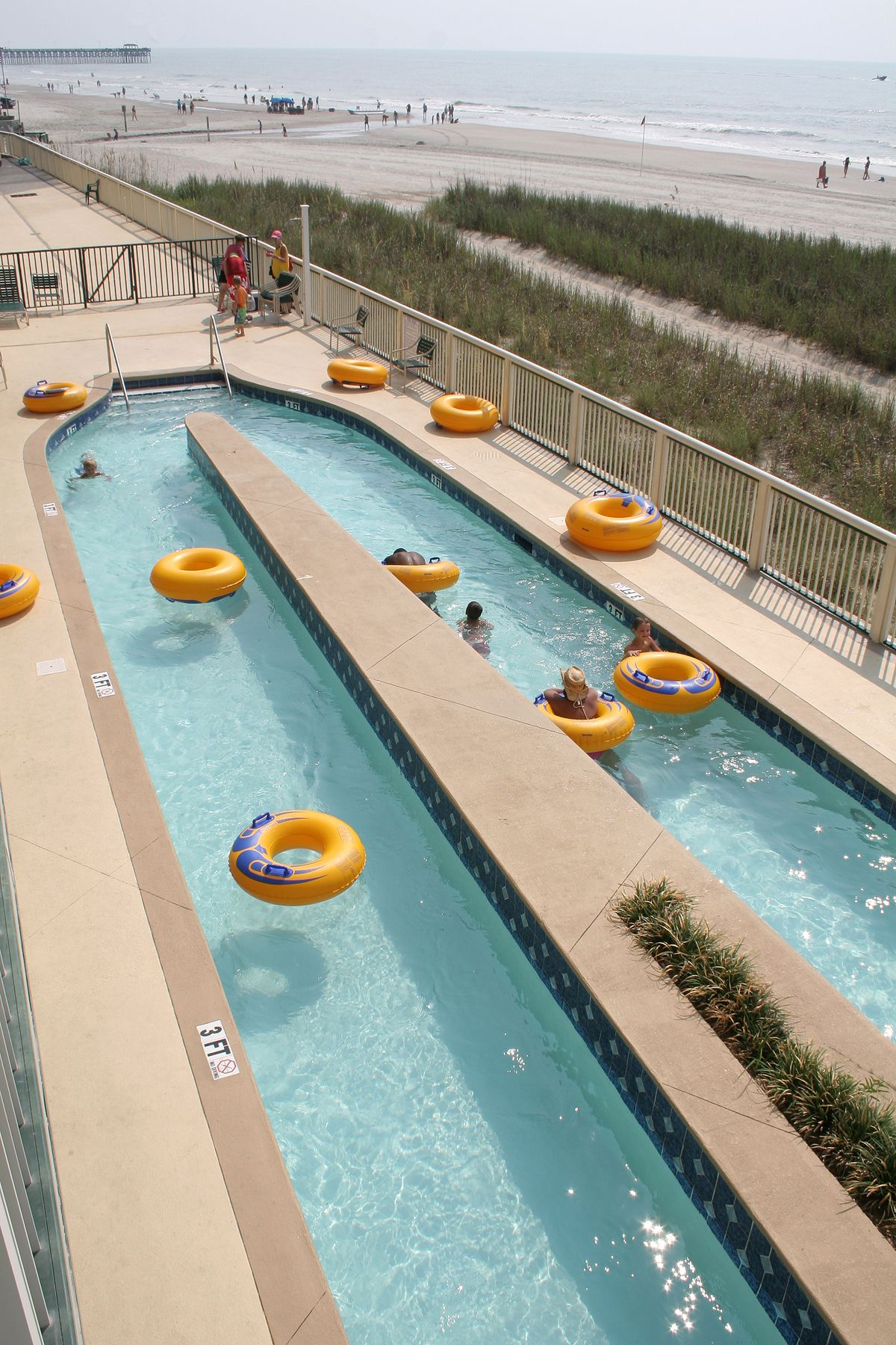 Enjoy The Ocean Breeze And Sunshine In Our Lazy River