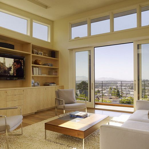 Top 50 Modern House Designs Ever Built: Home Entertainment Center Ideas_02