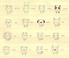 Korean Doodles With Images Cute Doodles Cute Drawings Animal