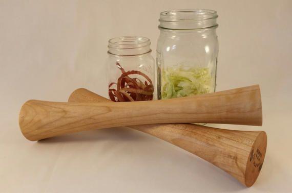 Tamper Fermenting muddler wooden pestle kitchen supplies