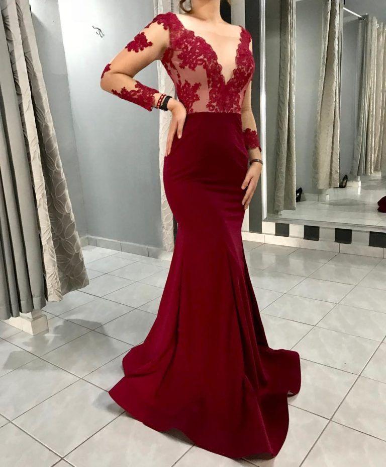 Colores De Vestidos De Fiesta Otoño Invierno 2018 En 2019