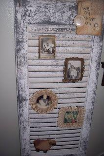 Old shutter