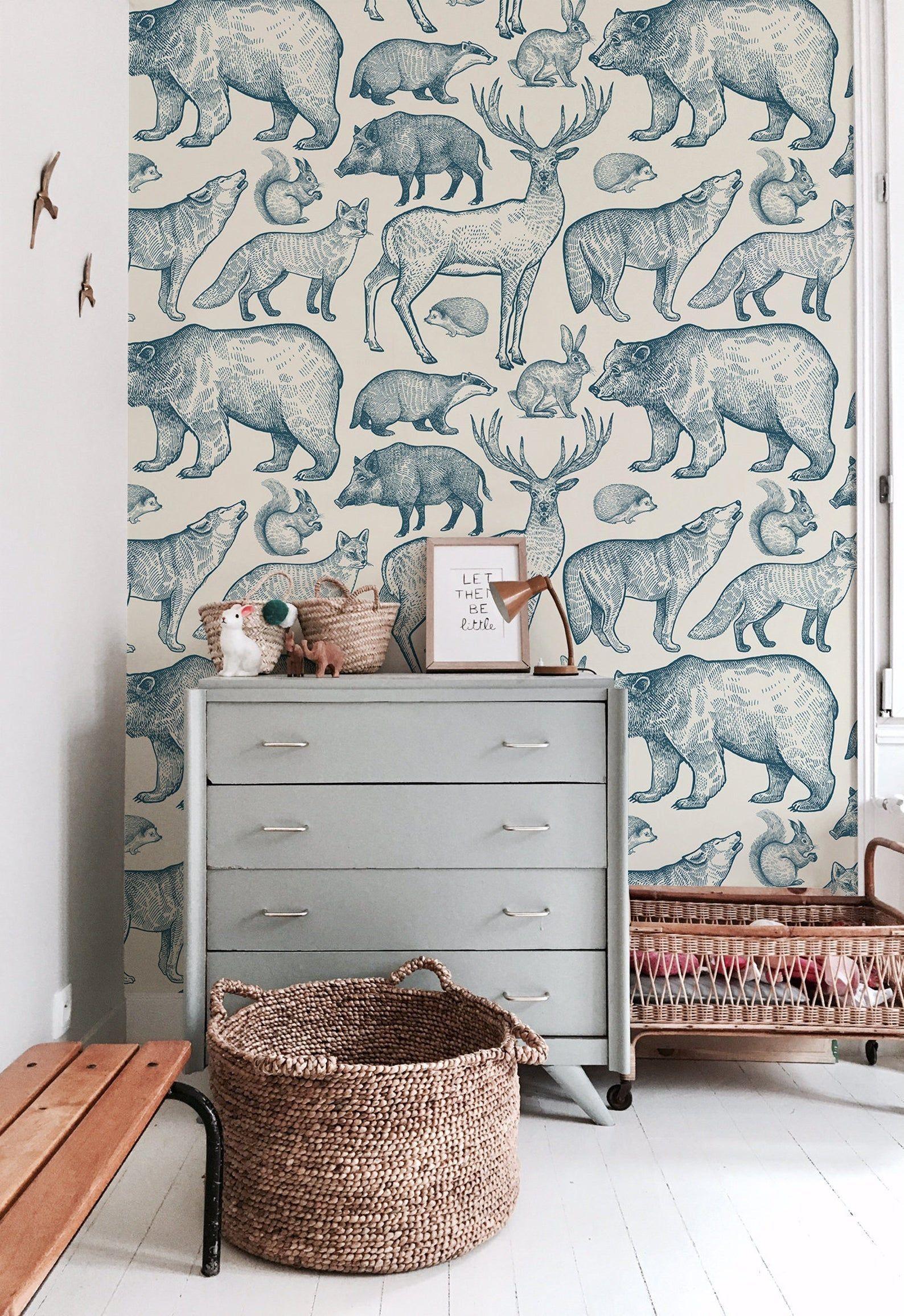 Pin On Kids Bedrooms Unisex bedroom wallpaper ideas