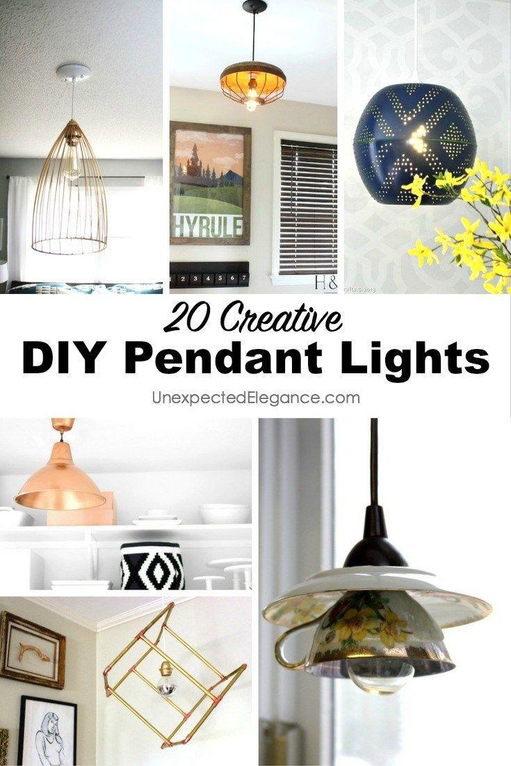 unique diy lighting. 20 DIY Pendant Lights Unique Diy Lighting I