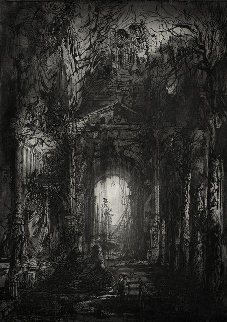 Alley of Lingering Sighs. by Yaroslav Gerzhedovich.
