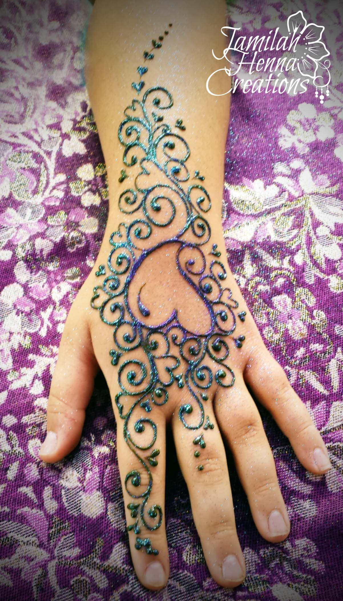 Simple Henna Tattoo Designs Hearts: Www.jamilahhennacreations.com Hearts Hearts Hearts Henna