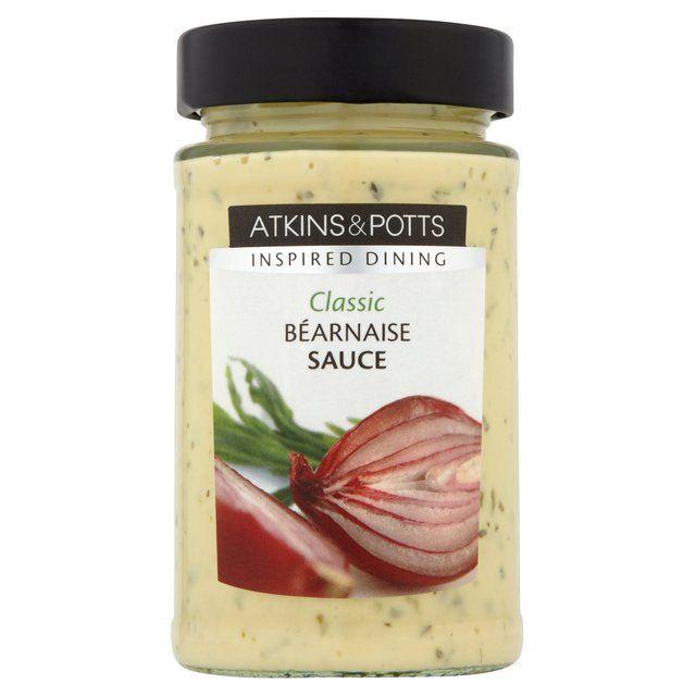 Atkins & Potts Gluten Free Bearnaise Sauce 190g Ocado: in ...