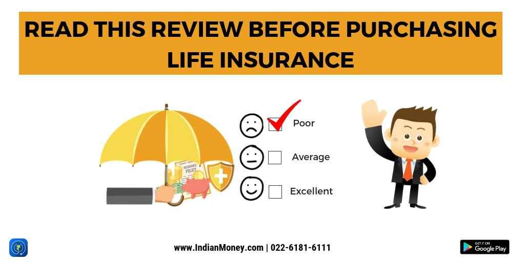 Before Purchasing Life Insurance Read This Review By Indianmoney Com Life Insurance Term Life Reading