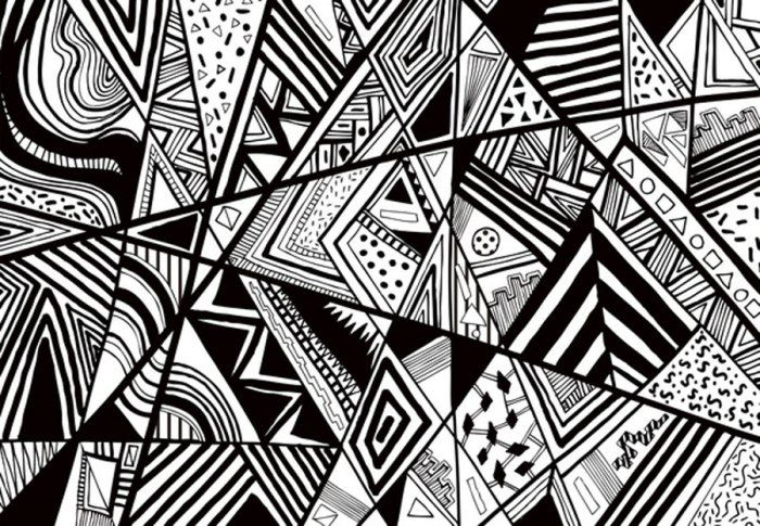 Black And White Art Designs | Wednesday Inspirations: Black And White |  Vasares Visual Wonderland