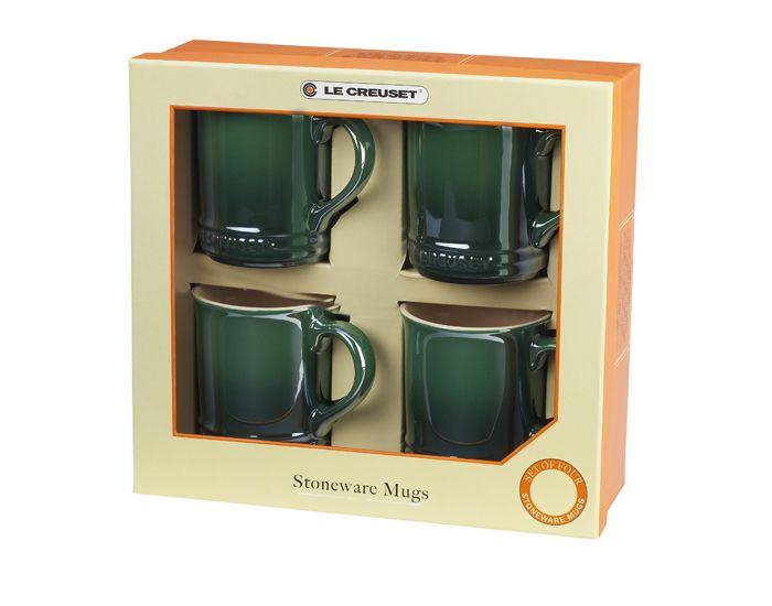 Set of 4 Pearlized Mugs