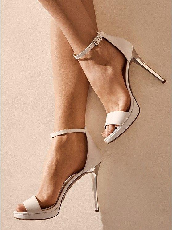 Hutton Leather Sandal | Michael Kors