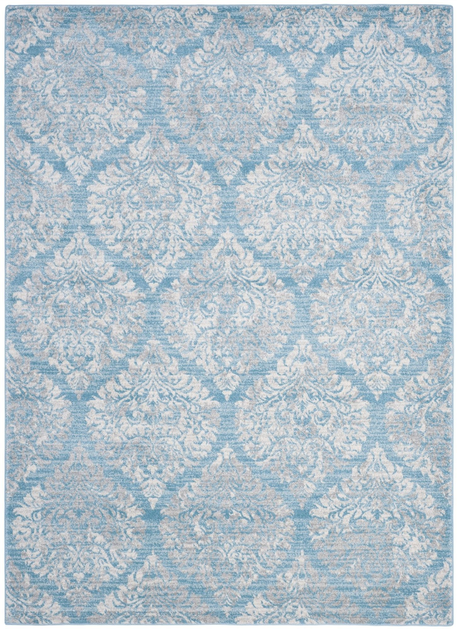 Herne Bay Light Blue/Ivory Area Rug