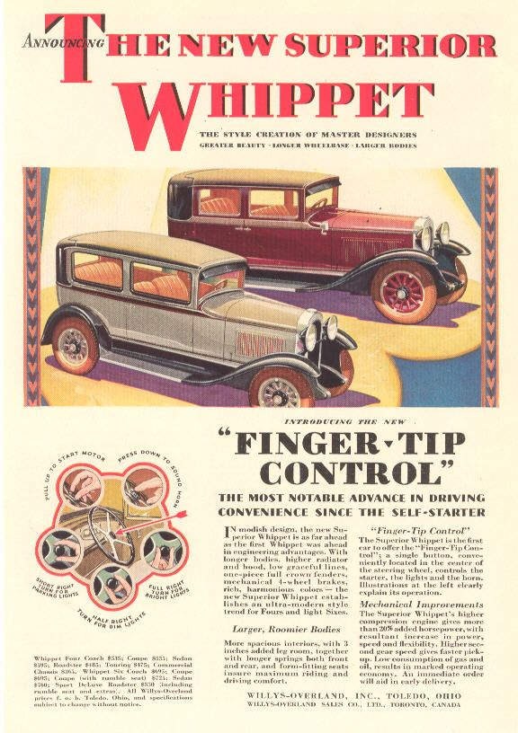 1929 Whippet Ad Whippet Vintage Cars Retro Cars
