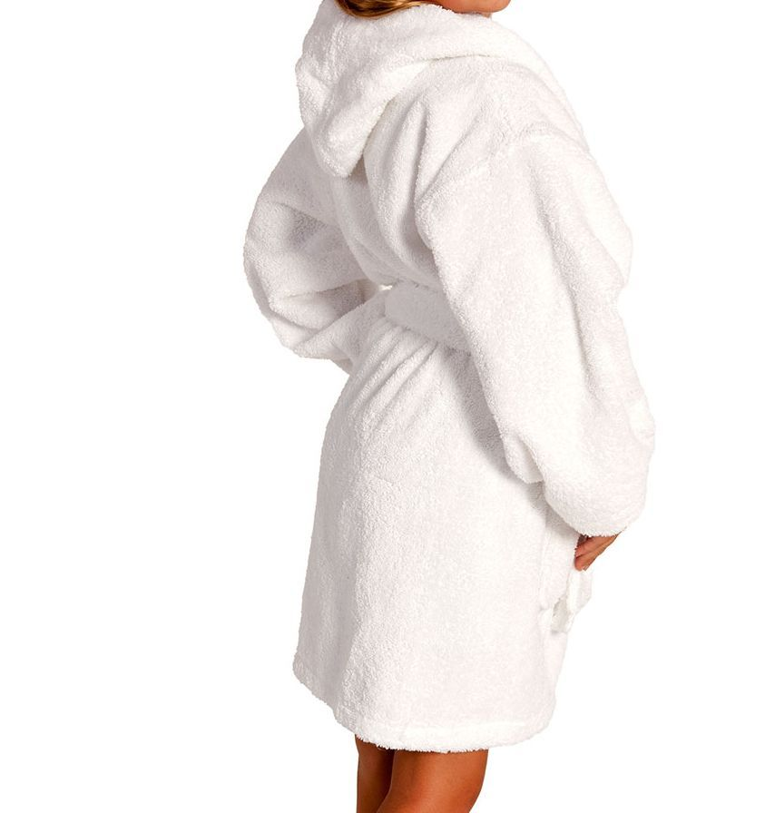 white-hooded-bathrobes-white-dressing-gowns-white-cotton-bathrobes ...