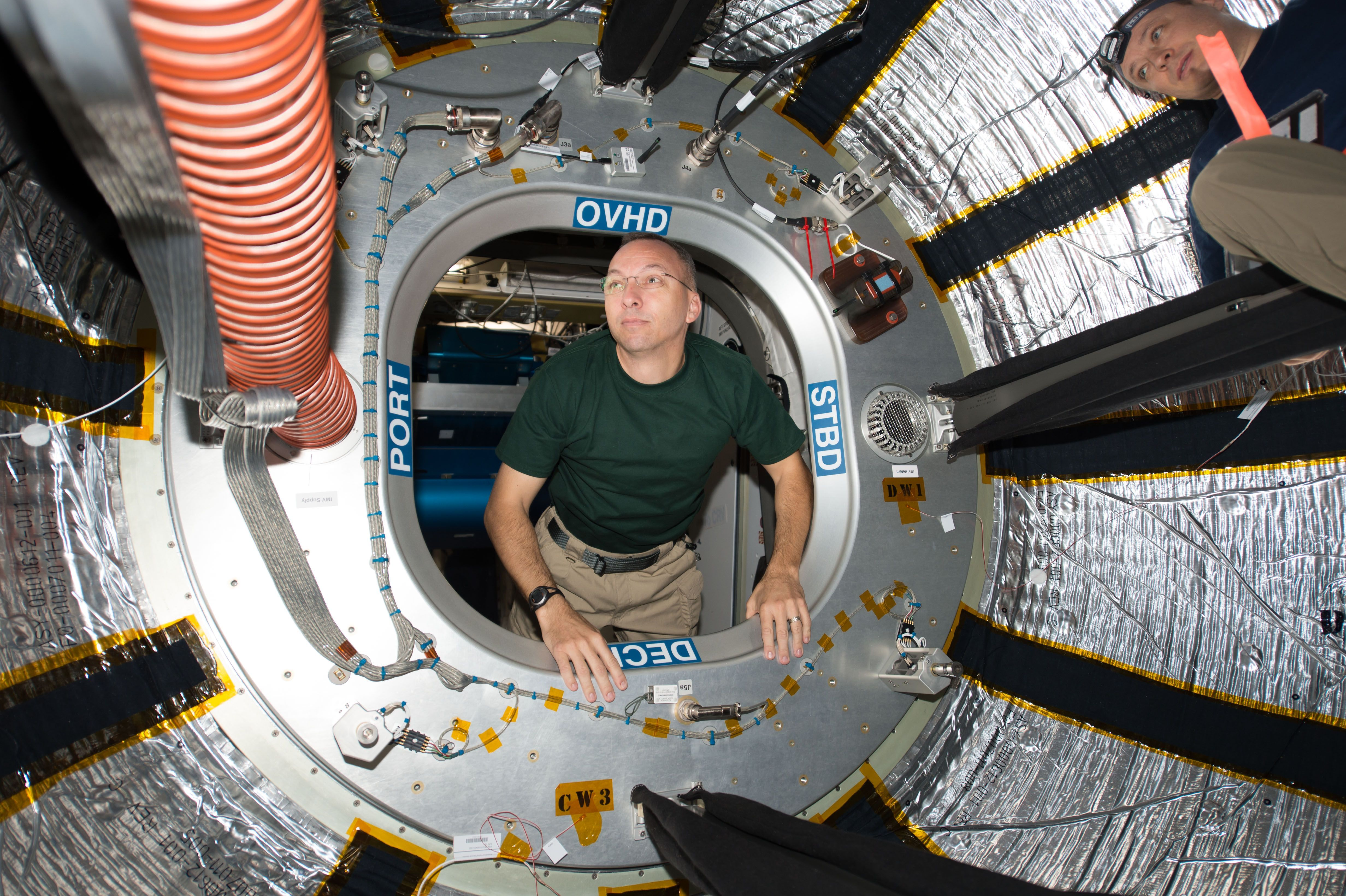 A Look Inside the Space Stationus Expandable BEAM Module Follow