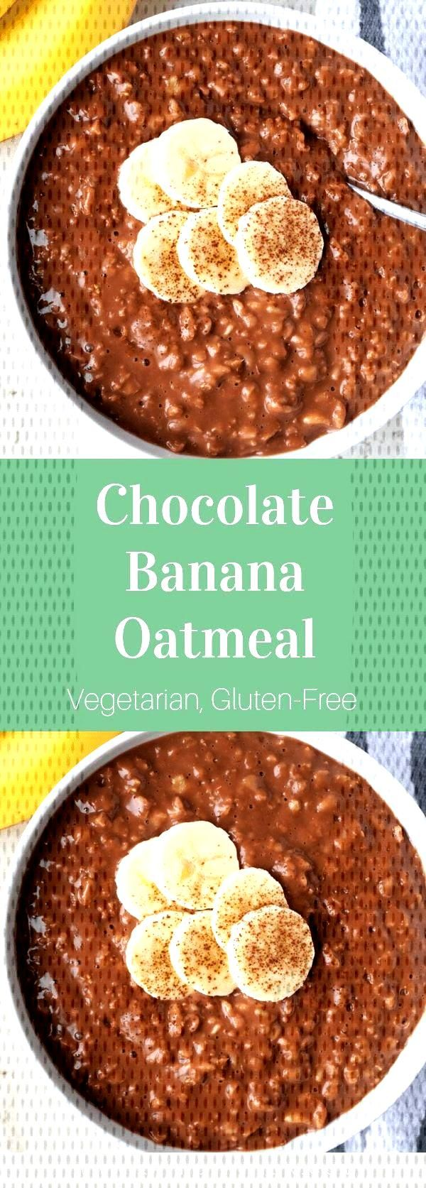 Chocolate Banana Oatmeal - Chocolate Banana Oatmeal – Stephanie Kay   Nutritionist amp Speaker -