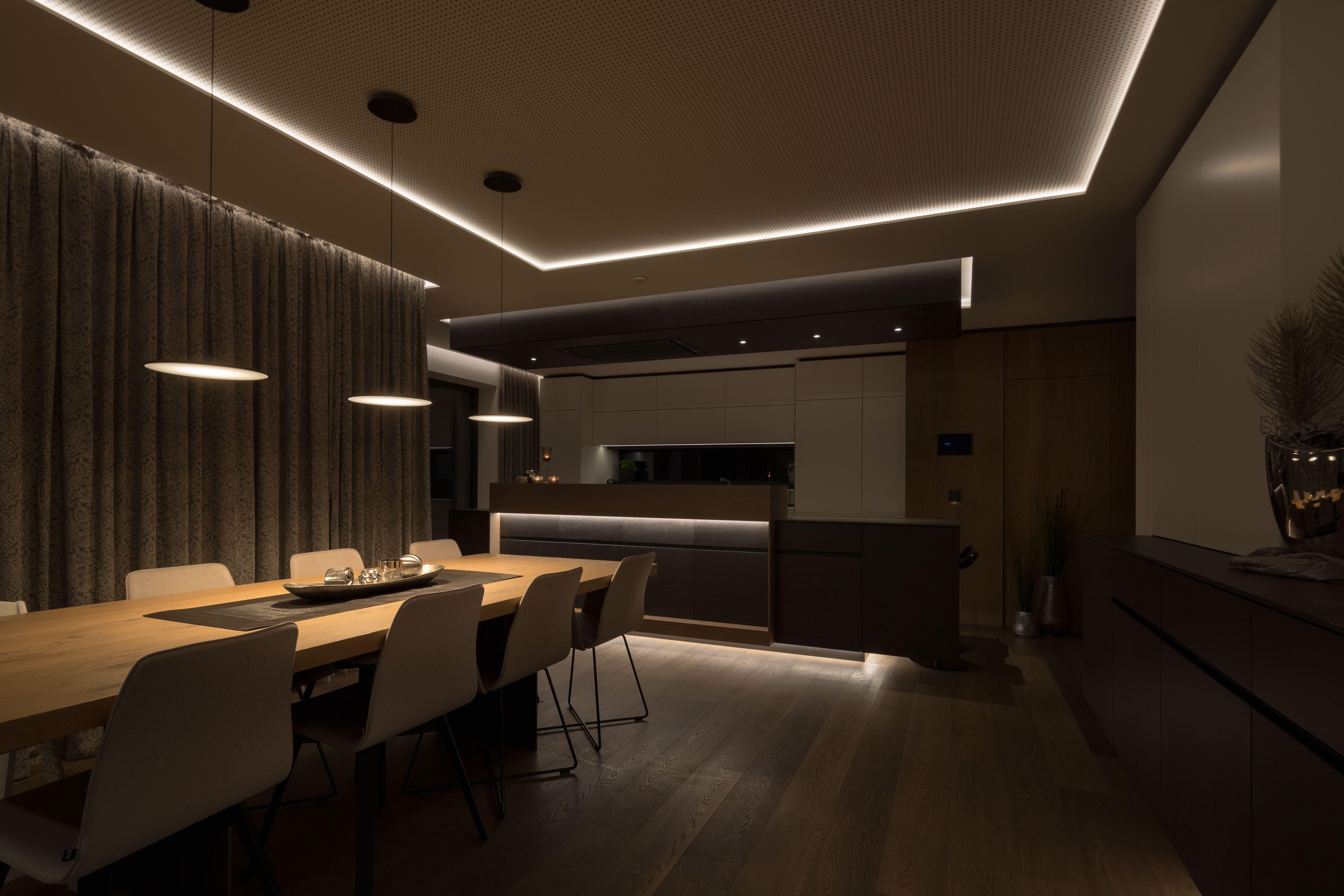 Lichtplanung mit der umfassenden Licht-Lösung von Loxone