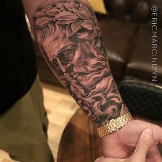 Greek Gods Tattoo Buscar Con Google Tattoo Tatuaje Poseidon