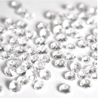 5000PCS 4.5mm Diamond Table Confetti Rhinestone Wedding Party Bling Decor