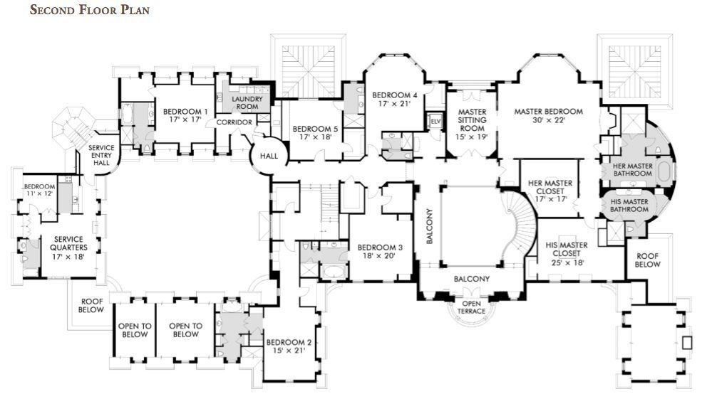 Second Floor Plan Of 1 Frick Drive 30 000 Square Feet
