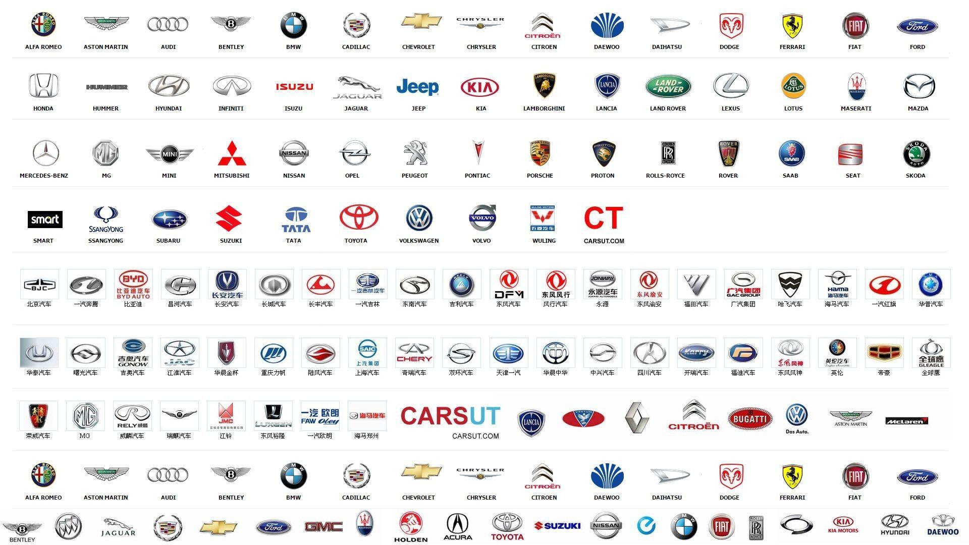 Car Logo Starter Pack All Car Logos Car Logos With Names Car Logos