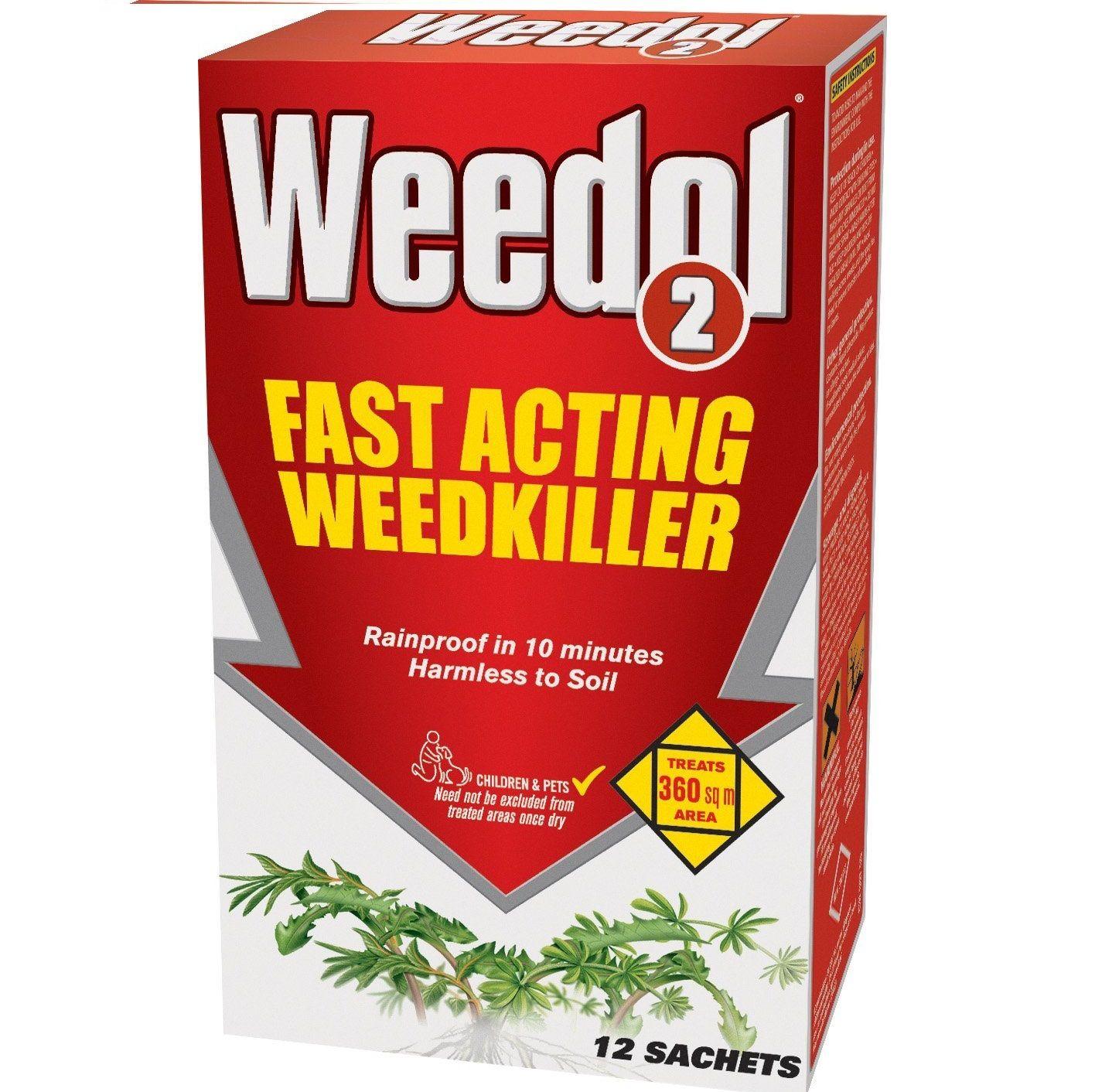 BARGAIN Weedol 2 12 Sachets Granular Concentrate Weedkiller JUST £10.99 At Amazon - Gratisfaction UK Bargains #bargains #garden