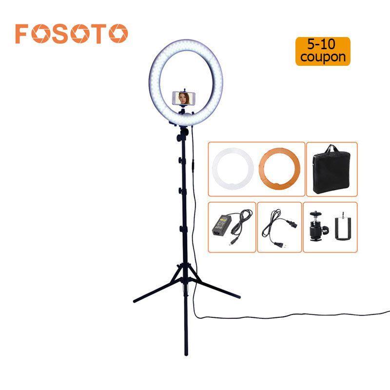 US $134.99 FOSOTO RL-18 55 Watt 5500 Karat 240 LED Fotolampen ...