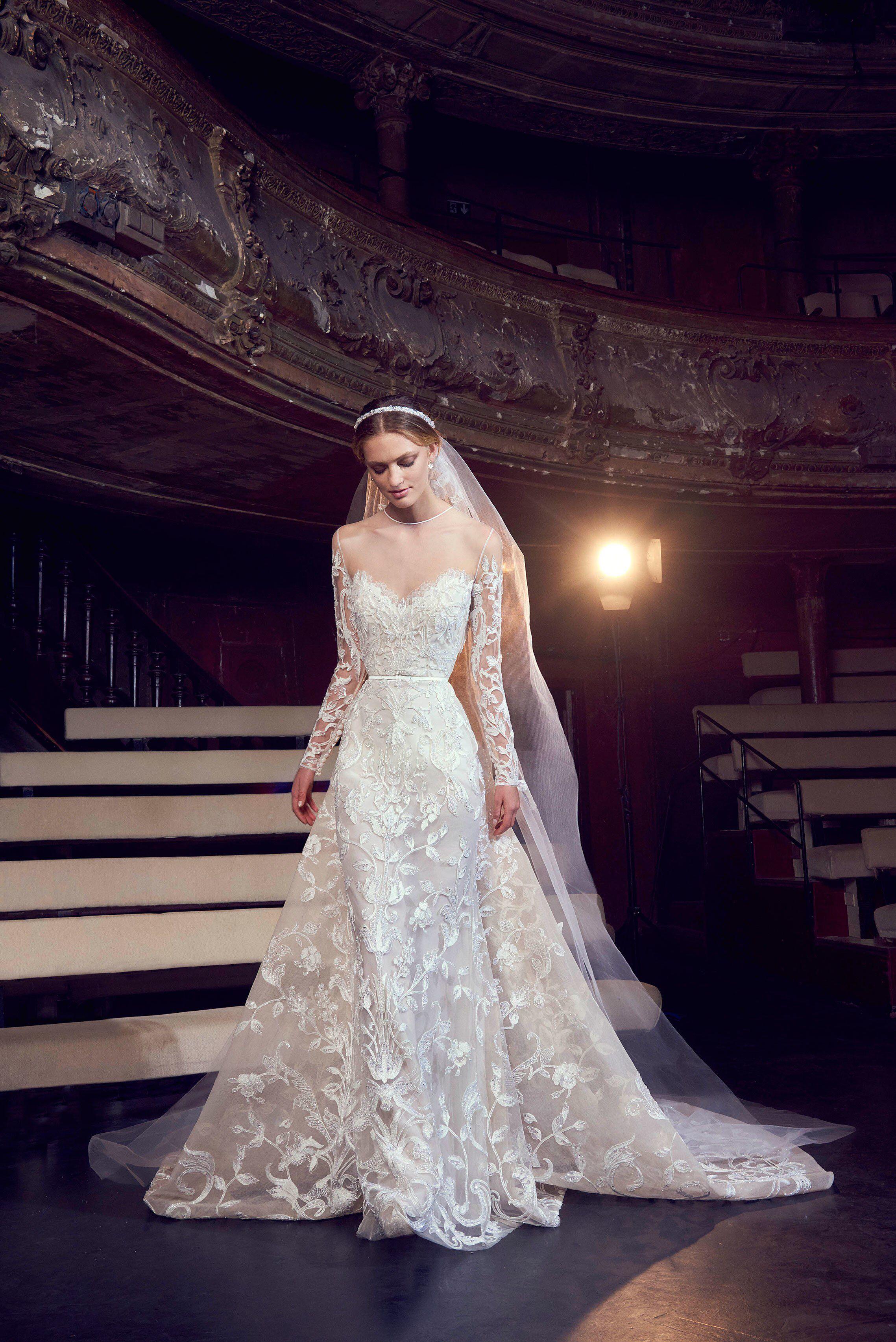Elie saab bridal fall fashion show 핀 pinterest wedding