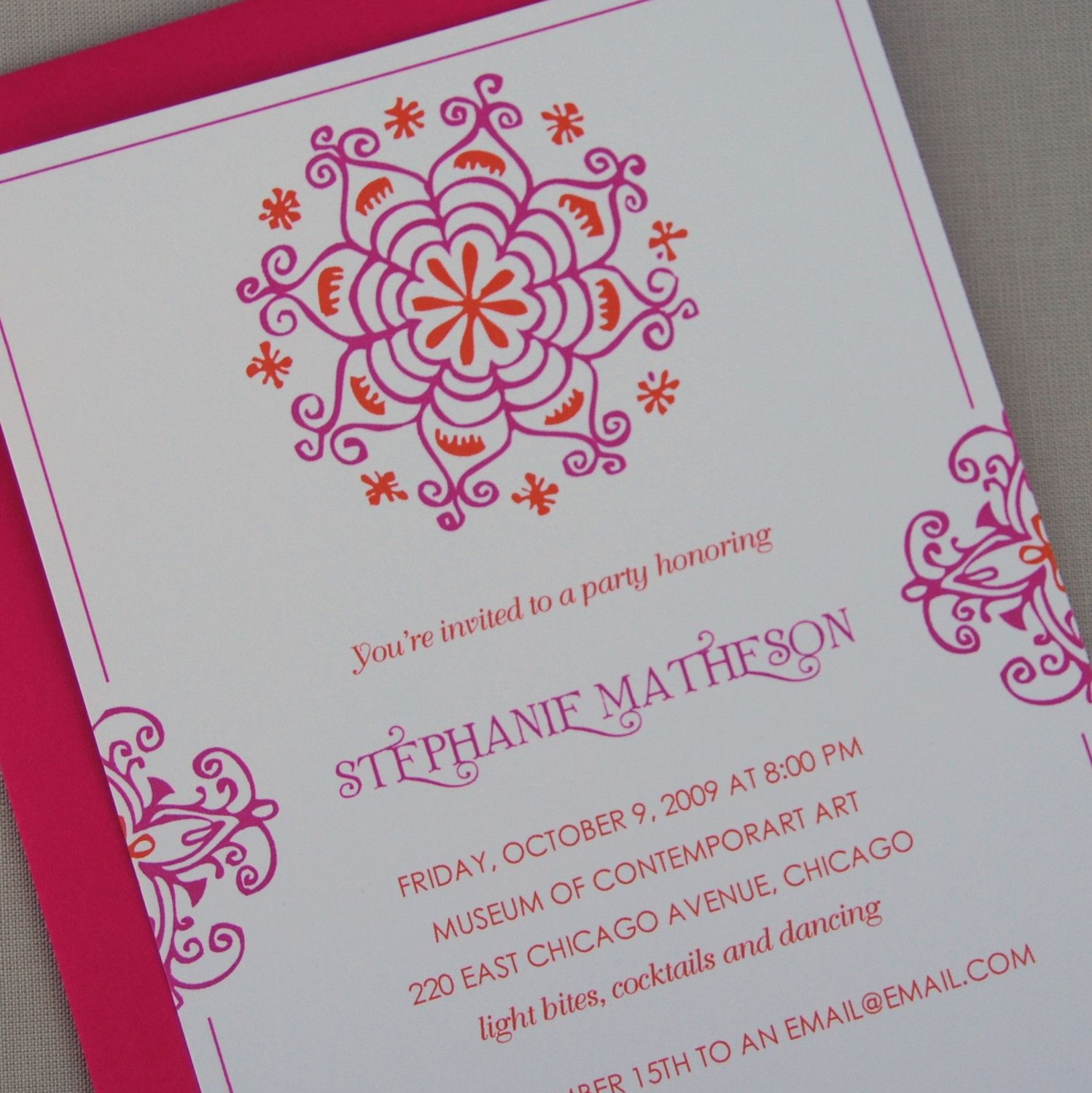 indian invitation decorated elephant booklet shower birthday