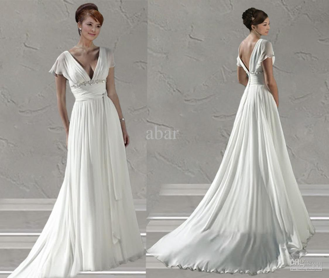 Erfly Sleeve Wedding Dress