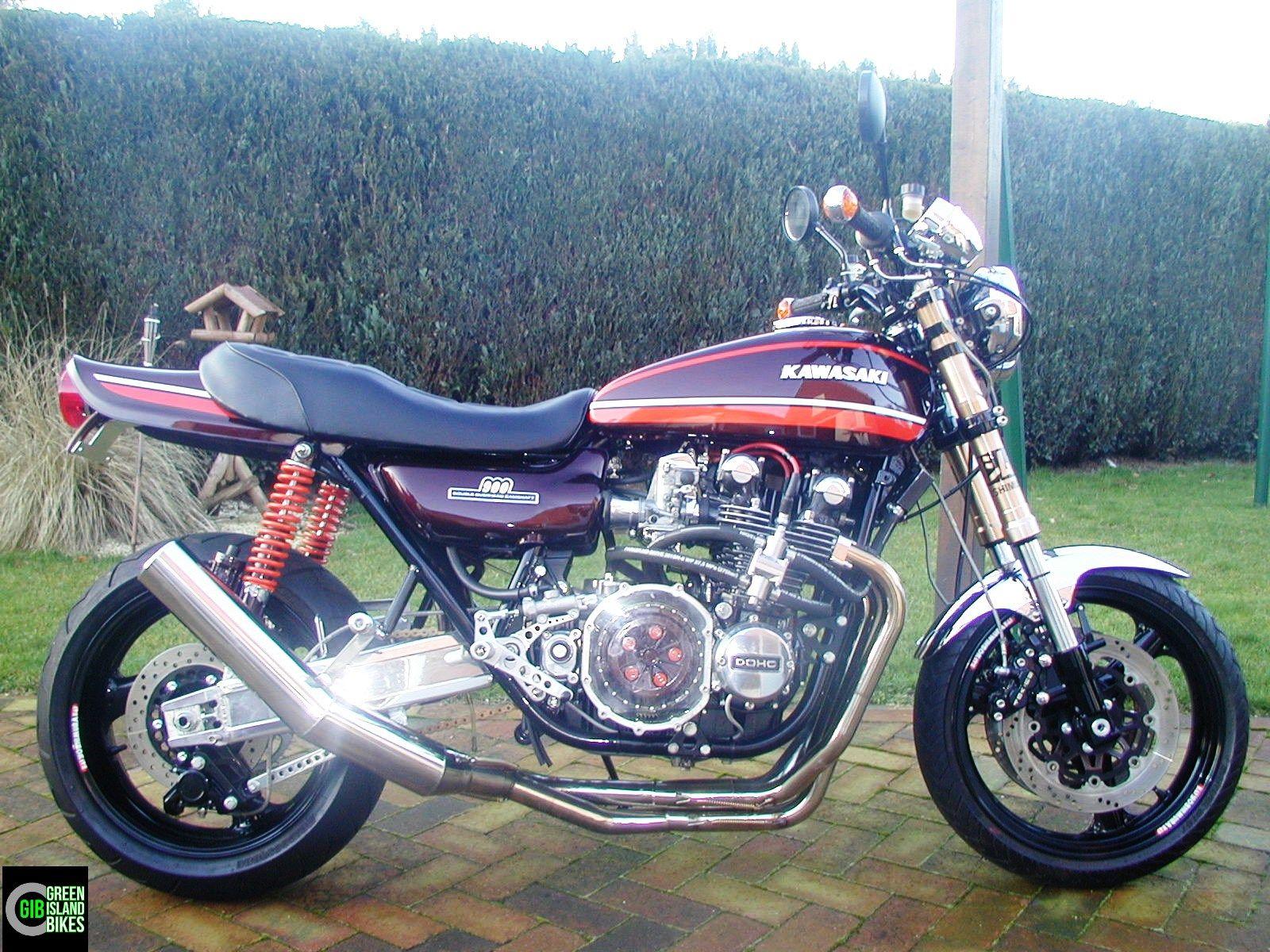 Umbau Einer Kawasaki Z 900GIB Custombikes Von Green Island Bikes