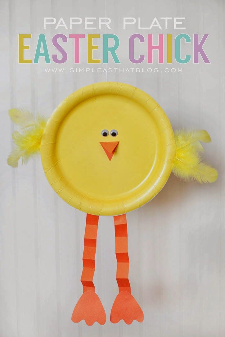 20 Fun Simple Easter Crafts For Kids Inspiring Ideas