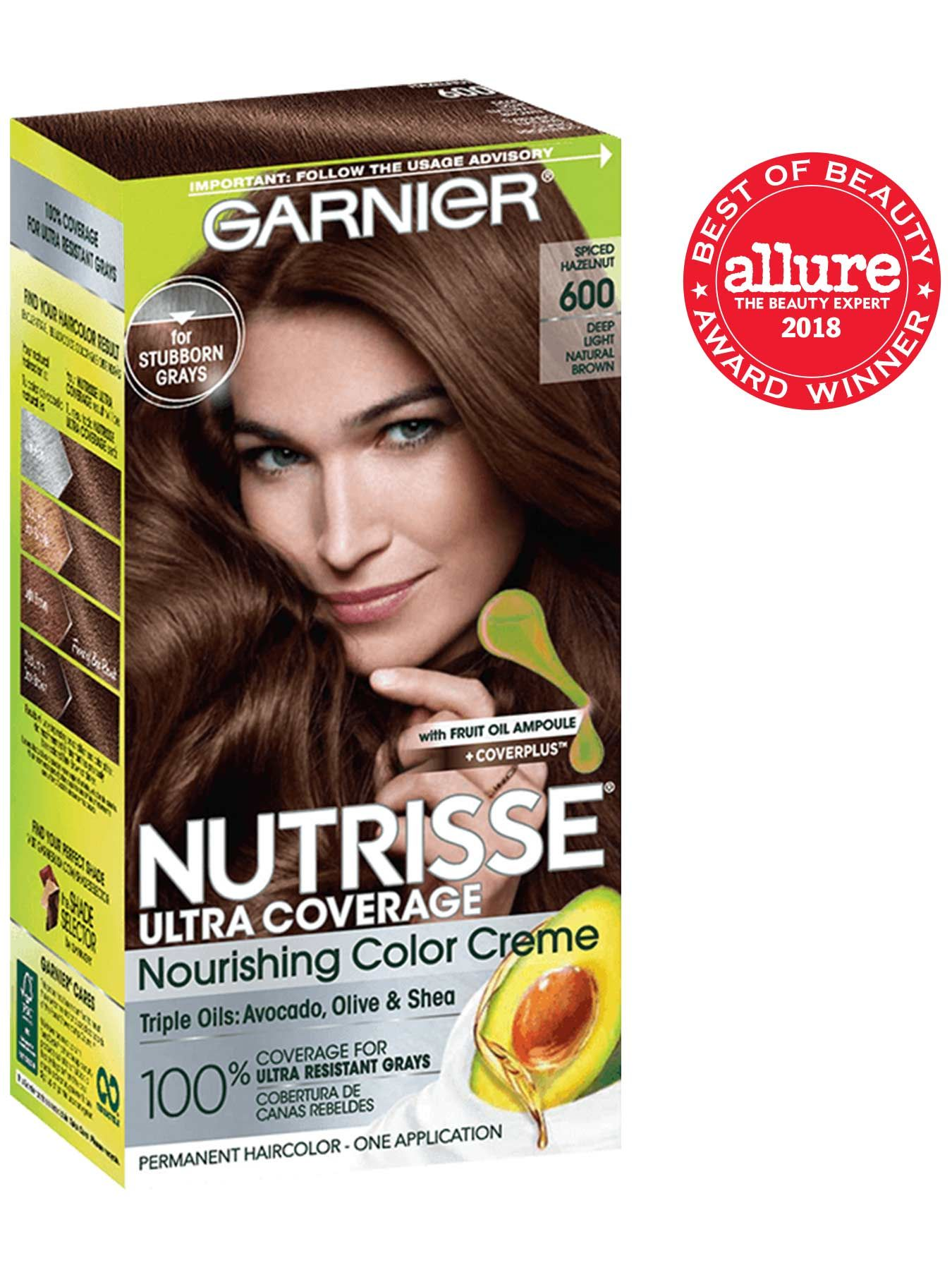 600 Spiced Hazelnut Hair Color Garnier Hair Color Light