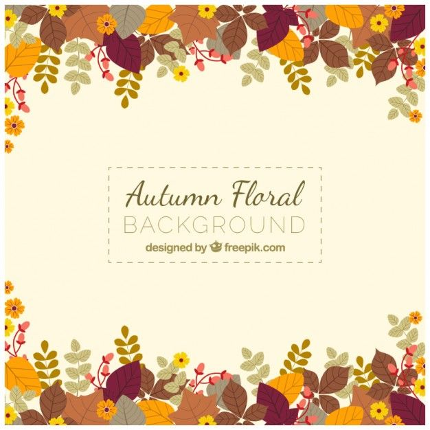 thanksgiving fall autumn floral and leaves borders vector art
