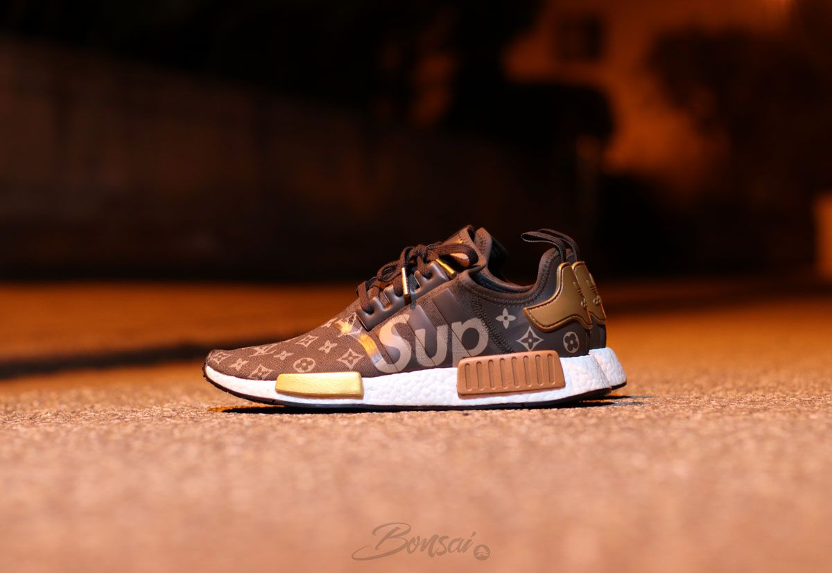 a735245ee785e Supreme x Bonsai Louis Vuitton NMD