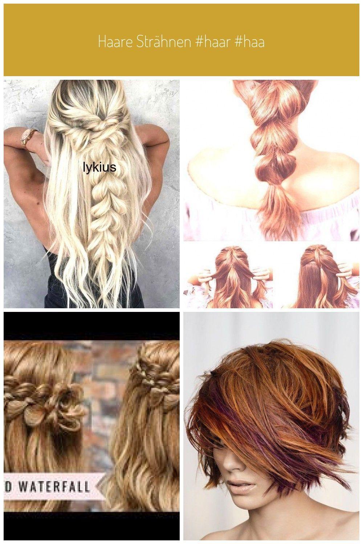 Haare strähnen #haar #haar Super geflochtene Frisuren Ideen – #frisuren #gefloc…