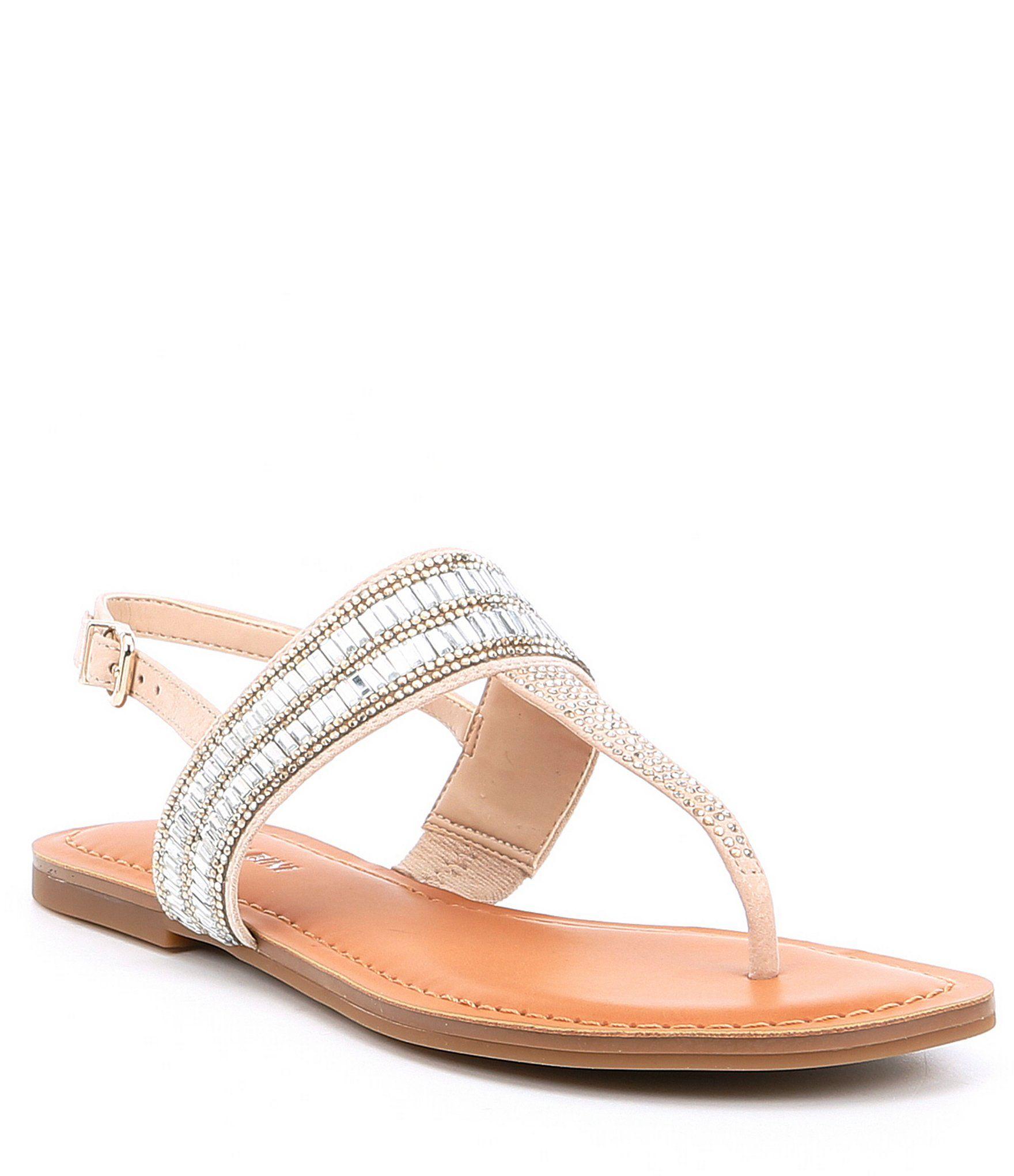 dillards sandals on sale