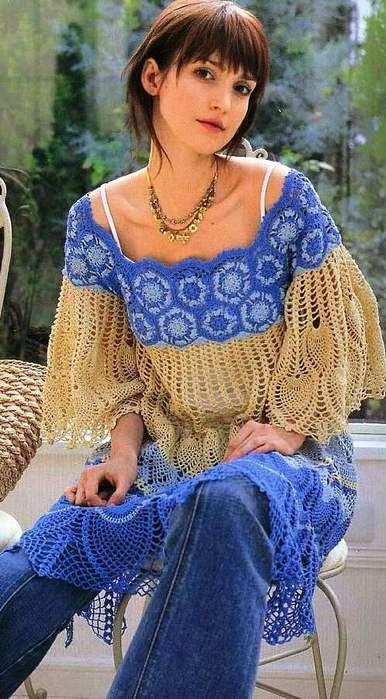 MADE TO ORDER elegant spring / summer women crochet door AsDidy