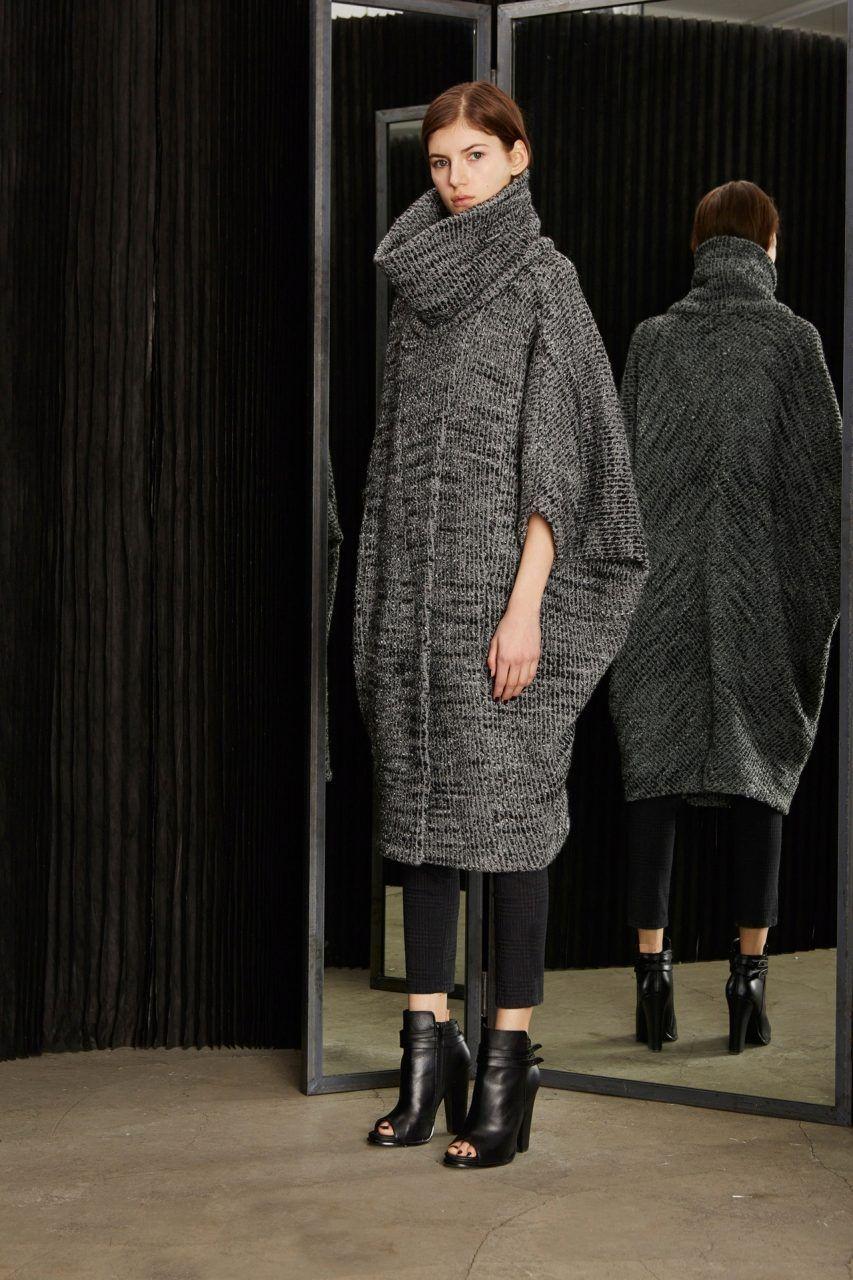 1b50f970662 Платье свитер вязаное свободное