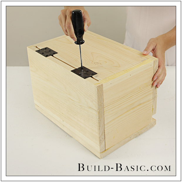 Build A Diy Card Box Building Plans By Buildbasic Www Build Basic Com Diy Card Box Card Box Wedding Diy Wooden Card Box